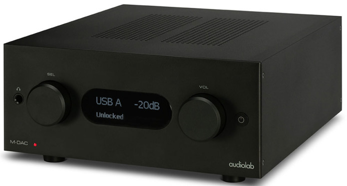 AUDIOLAB M-DAC+(BLACK)
