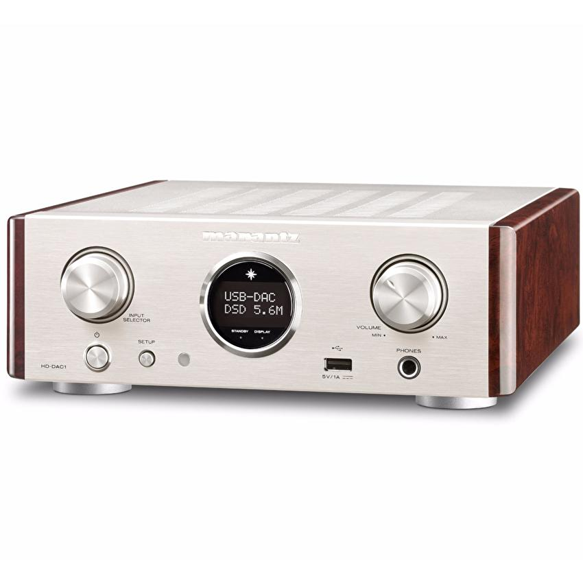 Marantz USB/DAC Headphone Amplifier HD-DAC1 (Silver)