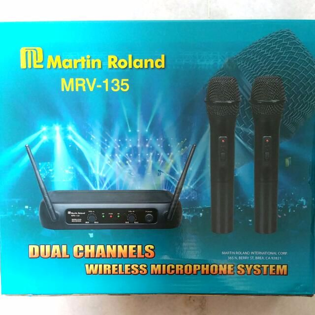 Martin Roland MRV-135 Wireless Microphone