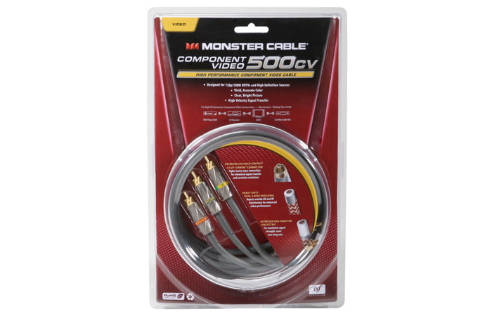Monster Cable MC 500CV-2M Video Cable  Component  (2 m)