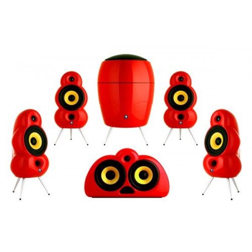 Scandyna Minipod 5.1 Cinema pack Red