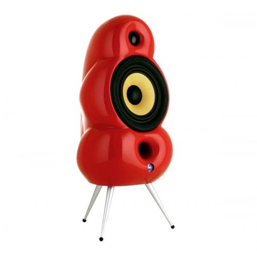 Scandyna Minipod Mk2 Red with spikes (pair) bluetooth