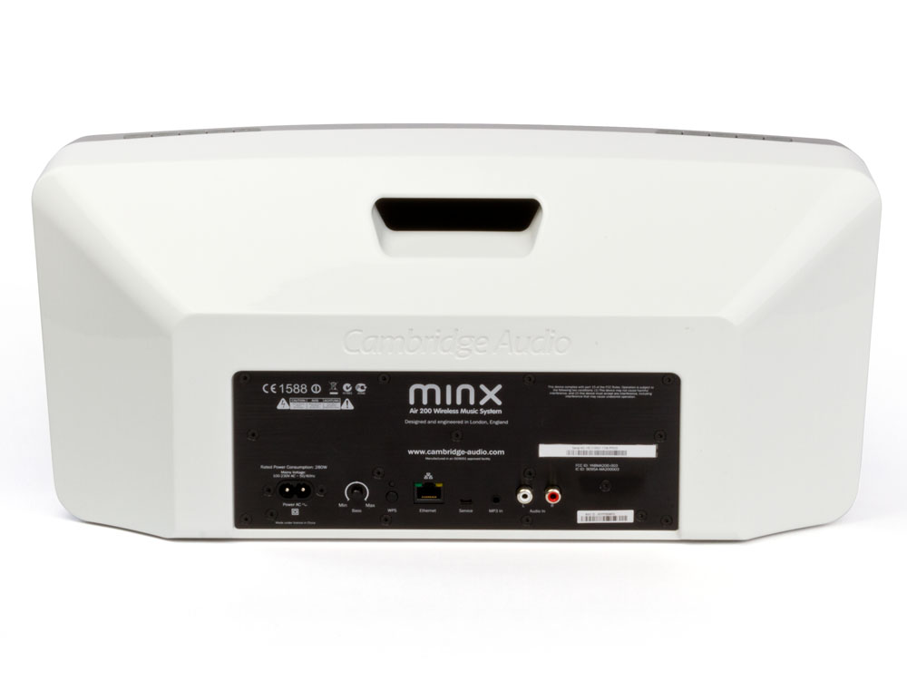 Minx Air 200 WiFi speakers White