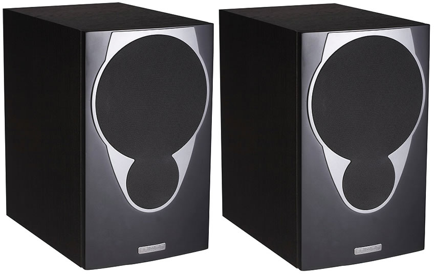 Mission MX2 Bookshelf speaker in black