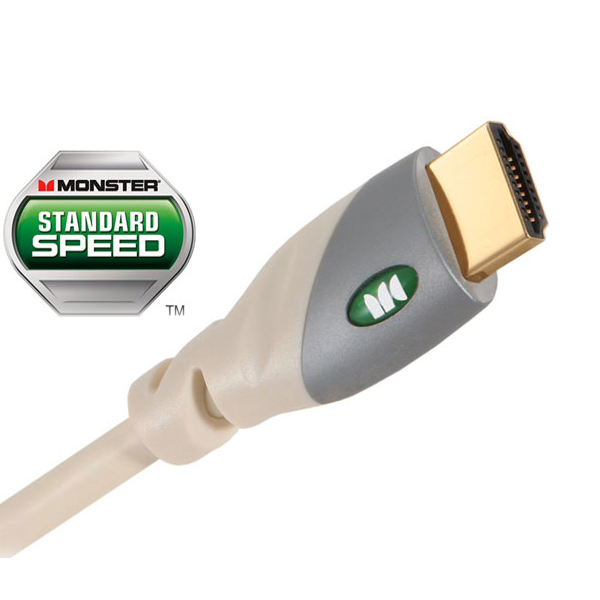 Monster Cable Cable MC 500HD-1M 500HD Standard Speed HDMI Cable