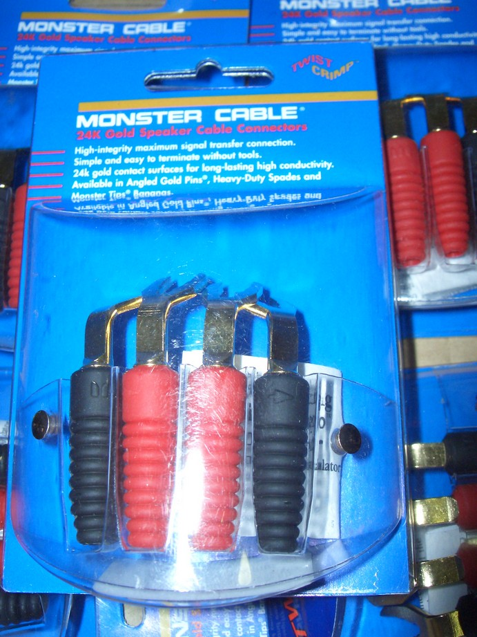 Monster Twist-on Spade Connectors