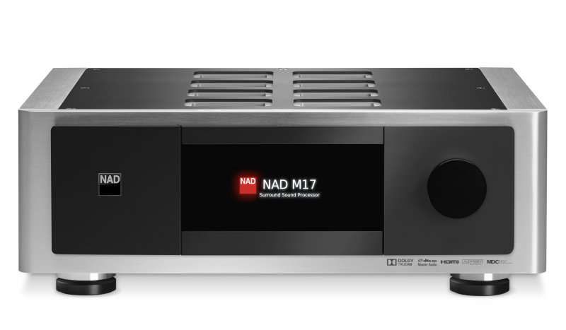 NAD M17 SURROUND SOUND AV PREAMPLIFIER