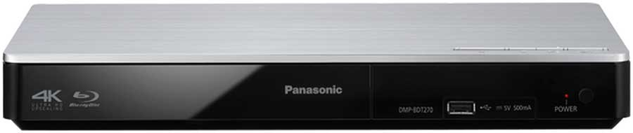 Panasonic DMP-BDT270 Region Free 4K 3D WiFi Blu Ray Player