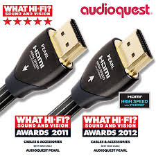 Audioquest Pearl HDMI 2.0ver cable 8m