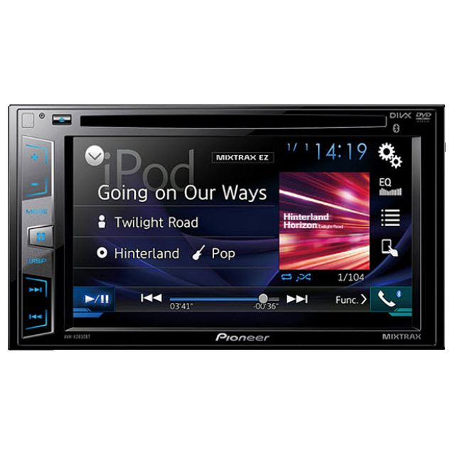 Pioneer AVH-X2850BT export set