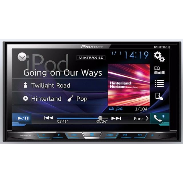 Pioneer AVH-X5850BT Export set