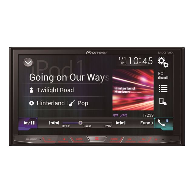 Pioneer AVH-X8850BT Export set