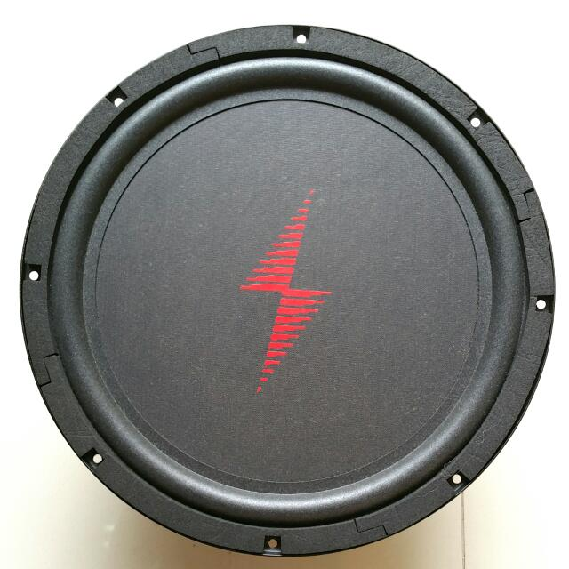 "Brand NEW12"" Flat Piston Subwoofer 4 Ohms - 1 pair  Designed and"