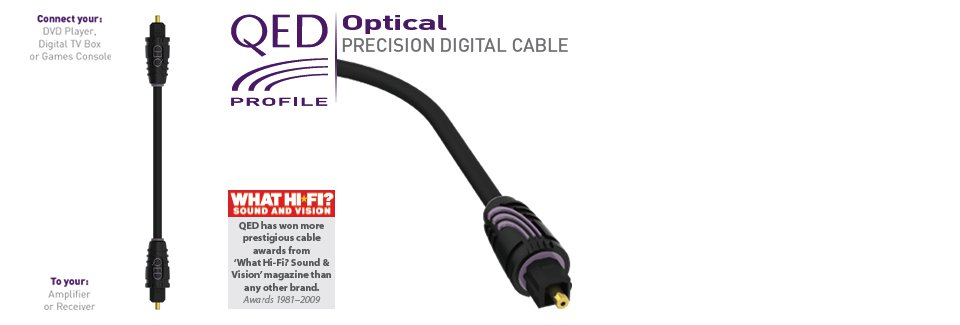 QED Profile Optical 5m