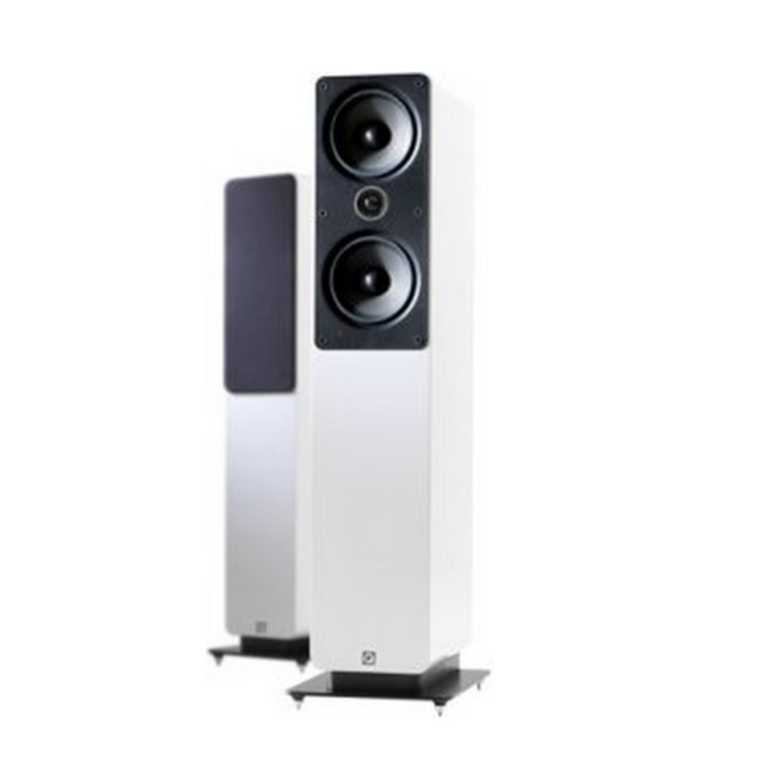 Q Acoustics Q2050i Floorstand Speakers Gloss White