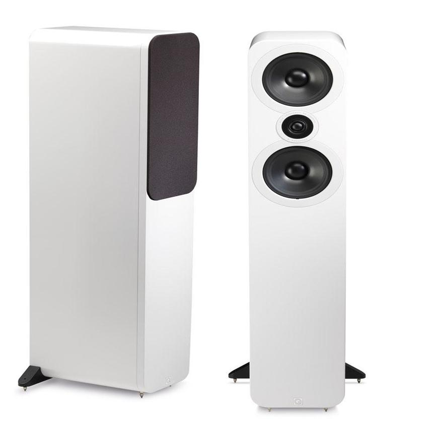 Q Acoustics QA3058 3050 Floorstanding Speaker Gloss White