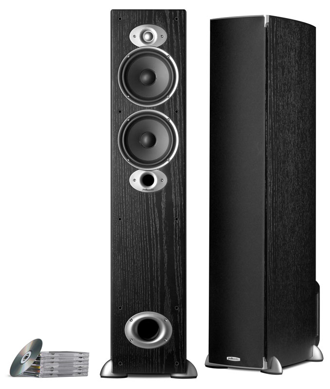 Polk Audio RTIA5 black one pair