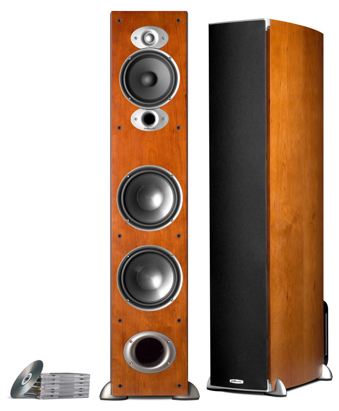 Polk Audio RTIA7 Cherry one pair