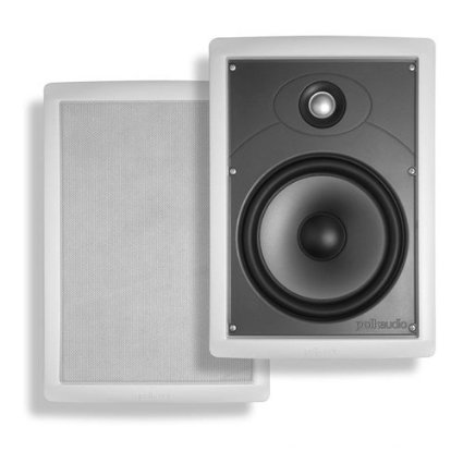 "Polk SC85-IPR 8"" IPR Ready In-Wall Speaker White (Each)"