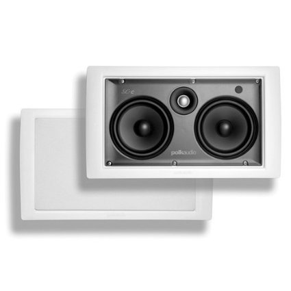 "Polk SC-C 5.25"" X 2 In-Wall Center Speaker (Each)"
