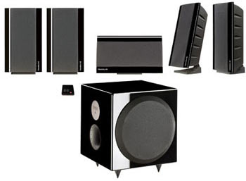 Triangle new GALAXY 2 Home Theater Speaker System BLACK