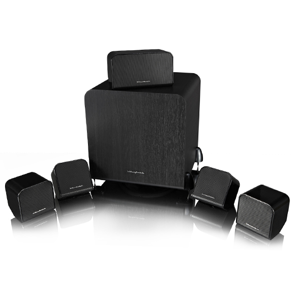 Wharfedale MS-100 HCP 5.1 speaker package black