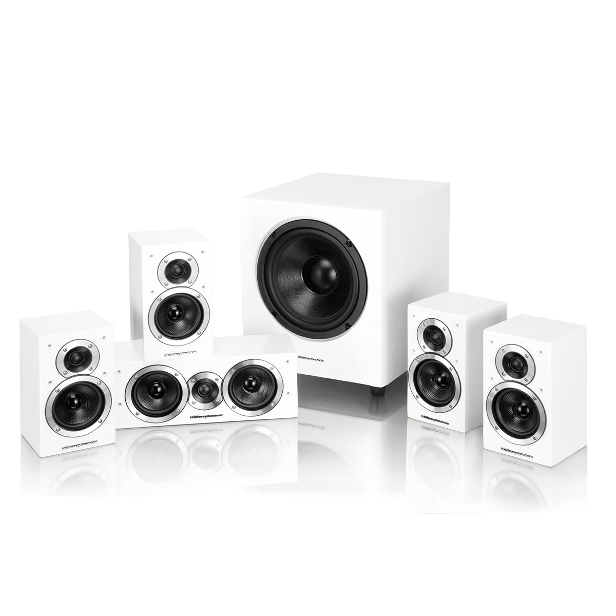 Wharfedale DX-1SE 5.1 sound system white