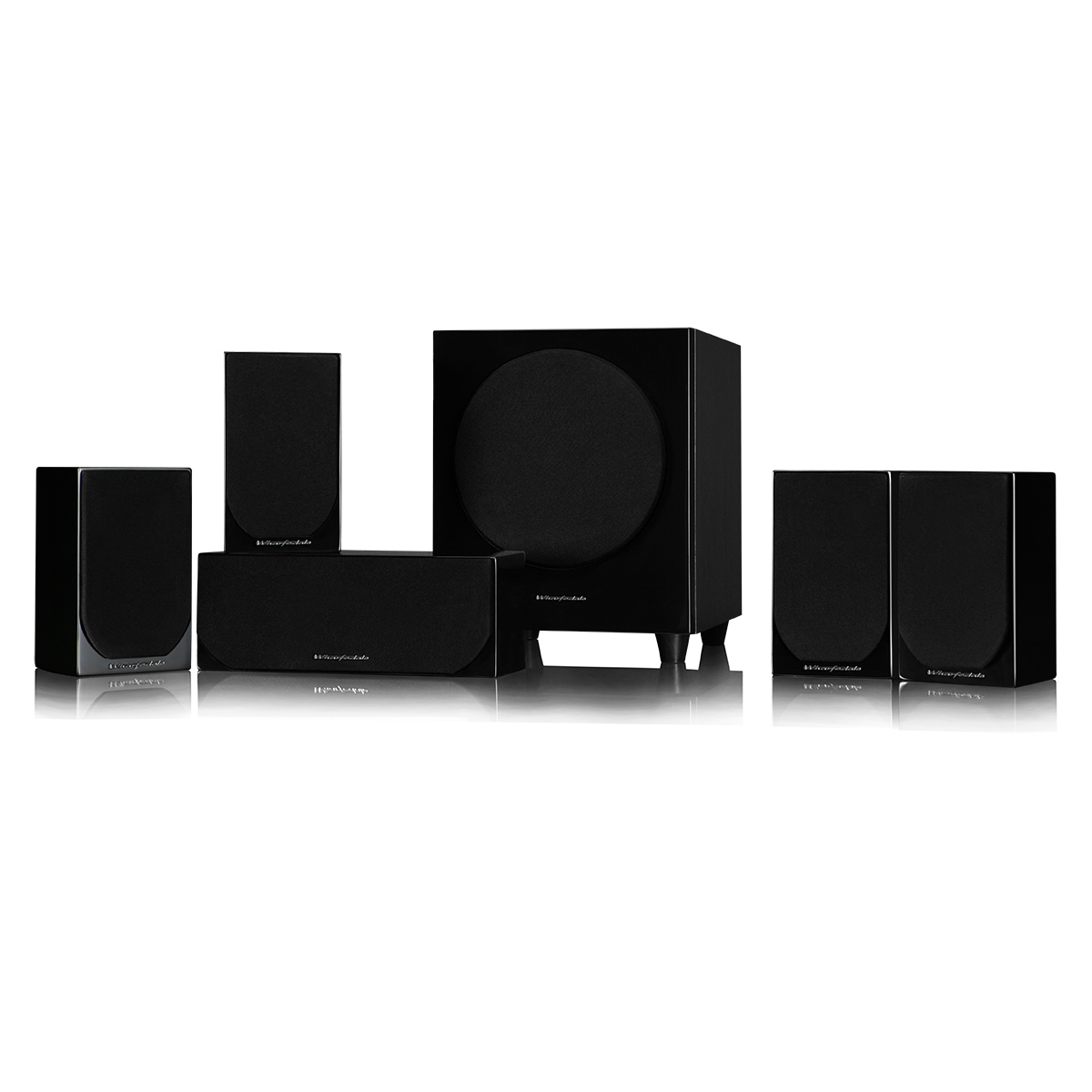 Wharfedale DX-1SE 5.1 sound system Black