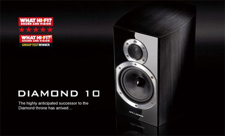 wharfedale diamond 10.1 in black