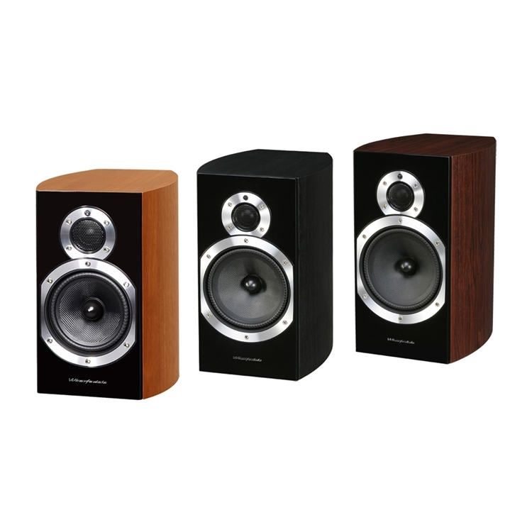 WHARFEDALE - DIAMOND 10.2 BOOKSHELF SPEAKER (PR) black