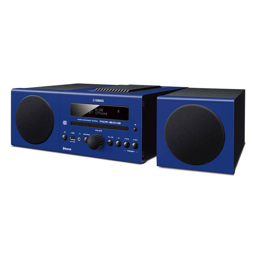 Yamaha MCR-B043 Desktop Audio System (Blue)