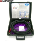 New Monster Z3 Speaker Wire 10ft Pair Banana and Spade