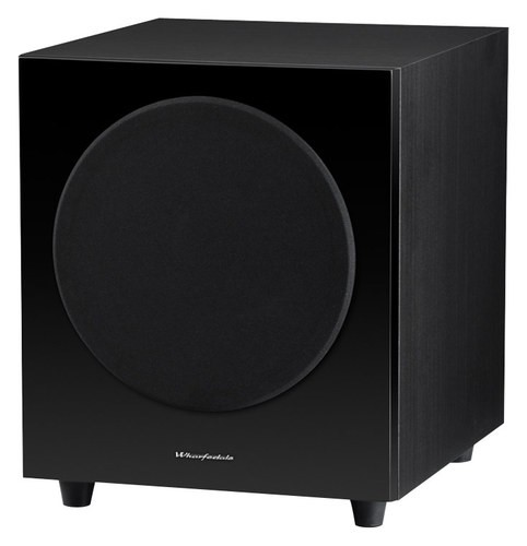 "Wharfedale - WH-D10 10"" 300W Powered Subwoofer - Black"