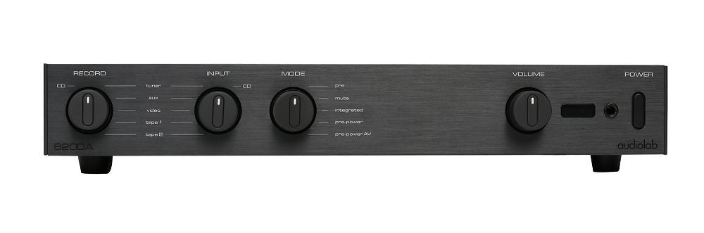 AUDIOLAB 8200A INTEGRATED AMPLIFIER (BLACK)