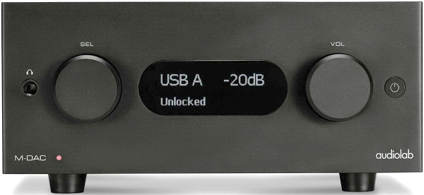 AUDIOLAB M-DAC (BLACK)