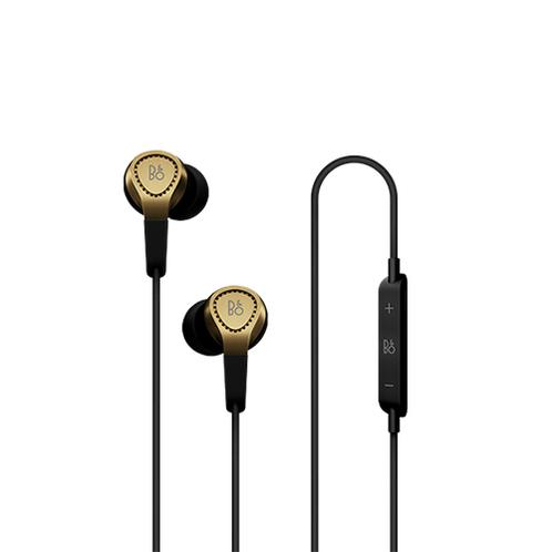 B & O BeoPlay H3 Earphones, Gold