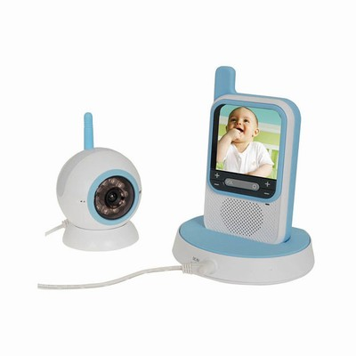 2.4GHz Baby Monitor System with Portable LCD & Night Vision QC32