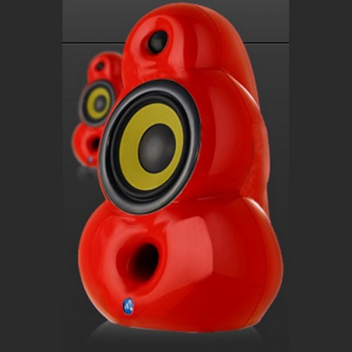 SCANDYNA Bigpod speaker in RED (pair)