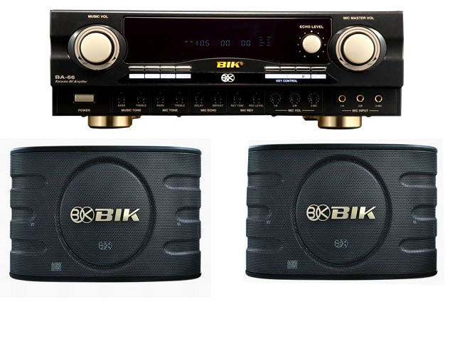 Bik Karaoke Package BA-66+BJ-S668