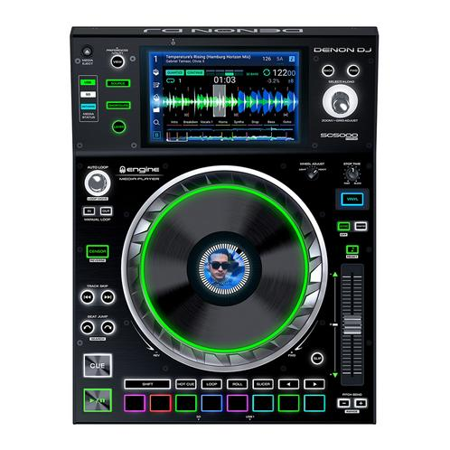 Denon DJ SC5000 Prime Dual-deck DJ Media Player with Multi-touch