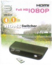 Daiyo HDMI 4 IN 1 OUT SWITCHER(V1.3b)