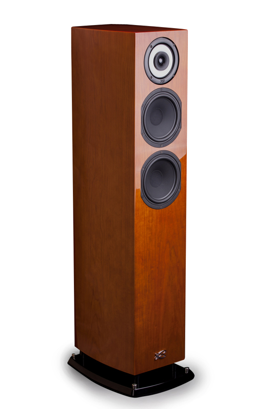 Cabasse Egea 3 speaker Glossy wildcherry