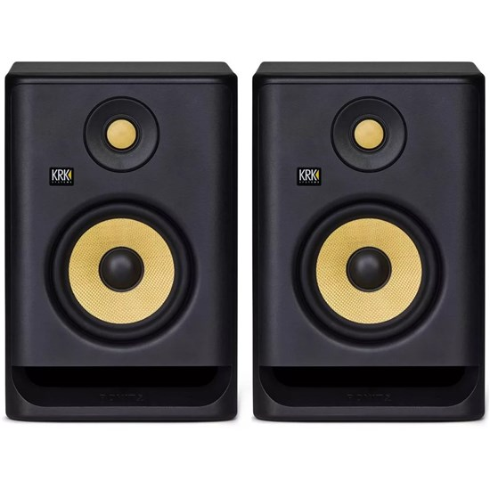 "KRK ROKIT RP5G4 5"" Studio Monitors (Black Pair)"