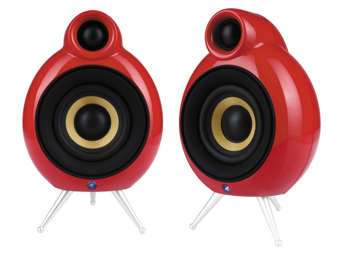Scandyna Micropod SE red one pair