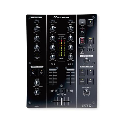 Pioneer DJM-350 2-Channel DJ Effects Mixer