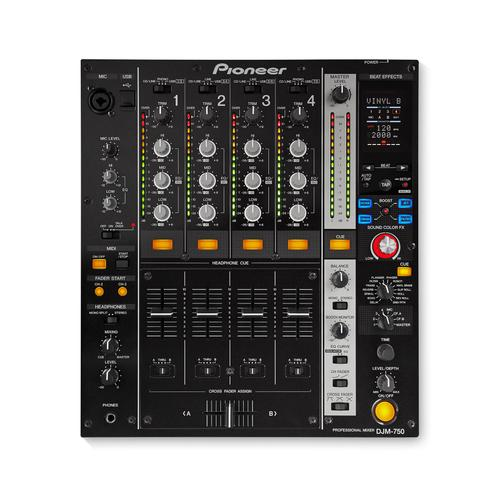 Pioneer DJM-750-K Performance DJ Mixer, Black