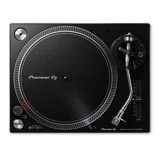 PIONEER PLX-500 PROFESSIONAL TURNTABLE, BLACK