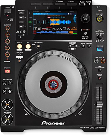 Pioneer CDJ-900-NXS Professional Multi Player