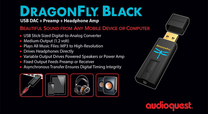 audio quest dragonfly black