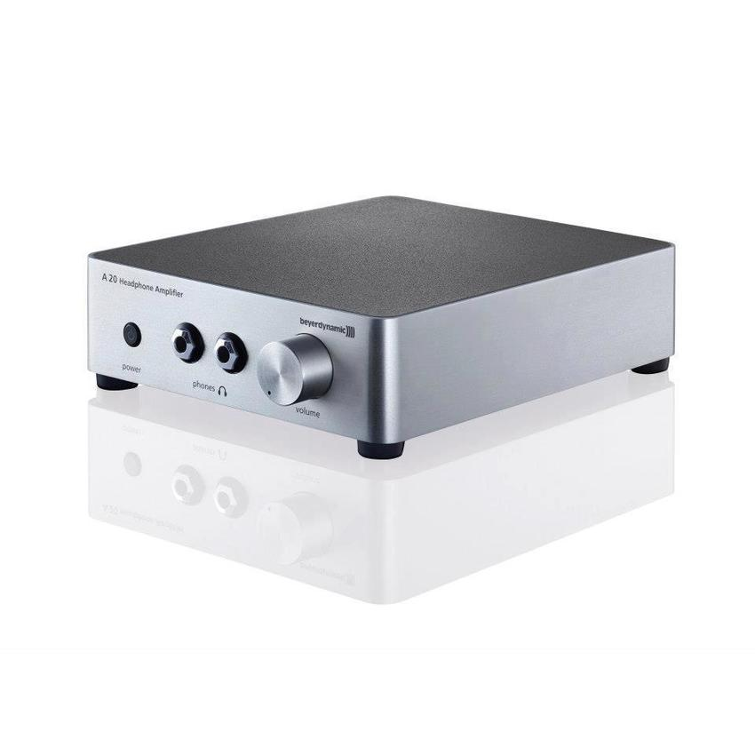 Beyerdynamic A20 Desktop Headphone Amplifier (Silver)